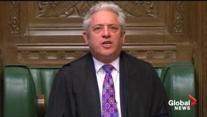U.K. parliament endorses PM May's Brexit delay request (00:25)