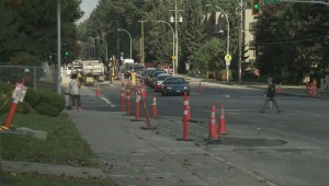Early Surrey LRT work causes messy sewage backup