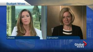 Leap manifesto does not reflect NDP values: Notley (08:46)