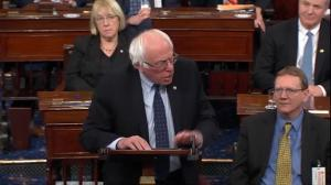 Bernie Sanders warns U.S. Senate that 'many thousands' will die if they repeal Obamacare