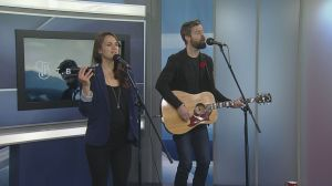 T Buckley and Chloe Albert perform 'Lost in Love'