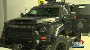 Winnipeg Police ARV has taken some damage recently