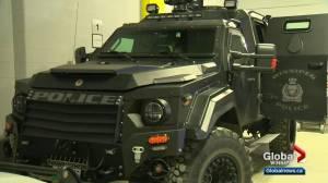 Winnipeg Police ARV has taken some damage recently