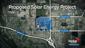 Largest solar energy project in Western Canada could be built within Calgary city limits