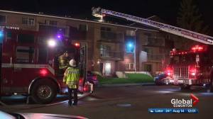 West Edmonton apartment building damaged by accidental fire