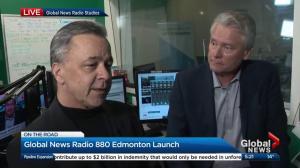 Corus Edmonton station manager talks about launch of Global News Radio 880 Edmonton