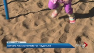 Alberta daycare advises helmets for playgrounds