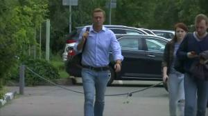 Russia's Navalny back in jail after being discharged from hospital following suspected poisoning