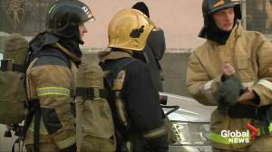 At least four wounded in explosion in St Petersburg military academy