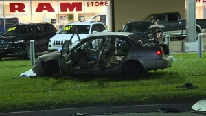 Kingston Police investigate a serious motor vehicle collision