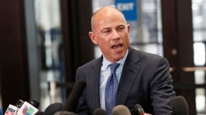'I will never stop fighting' says Avenatti outside courthouse