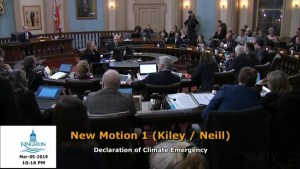 Now that Kingston has declared a climate emergency, what happens next?