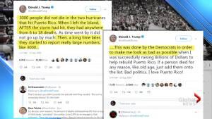Trump denies 3,000 Puerto Ricans died due to Hurricane Maria, blames Democrats