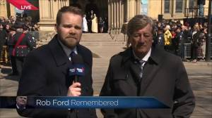 Mike Harris remembers Rob Ford as 'the people's mayor'