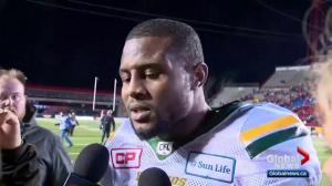Edmonton Eskimos fall 32-28 to Stampeders in West Division final