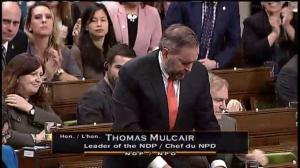Mulcair wonders if new Canadian anti-ISIS role will put troops in greater danger