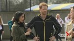 Prince Harry and Meghan Markle make appearance at Invictus Games trials