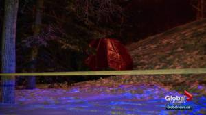 1 dead after car catches fire in southwest Calgary