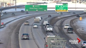 Province looking at changes to Deerfoot, including variable speed limits