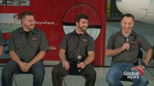 Calgary pilots speak out after Antarctic rescue mission