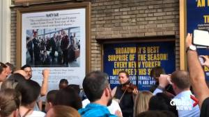 Broadway cast entertains fans during New York City blackout