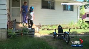 Stolen specialty bike returned to Alberta boy