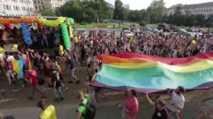 Victims of Orlando nightclub shooting remembered during pride celebrations in Europe