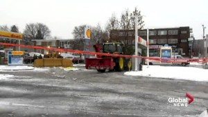 Snow plow accident kills Laval gas station employee