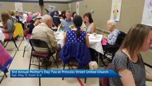 Global News Morning previews a Kingston high tea for Mother's Day