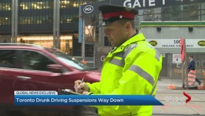 Toronto Police issue fewer tickets, find fewer drunk drivers