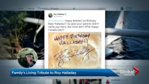 Roy Halladay leaves lasting impression on Ontario family