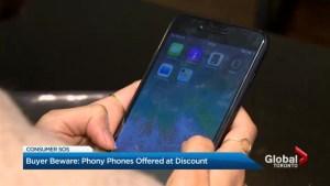 Beware fake iPhones for sale