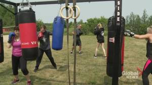 New outdoor gym offers another element to training