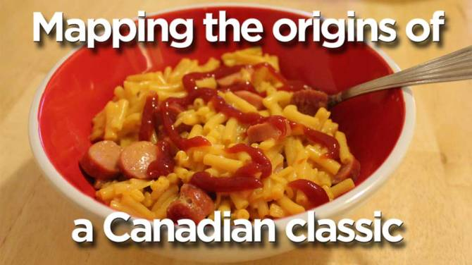 Kraft Dinner With Hot Dogs