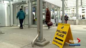 Advance polls open for Alberta provincial election (01:33)