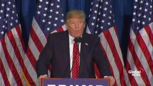 'He's a choke artist': Donald Trump addresses attacks by Mitt Romney