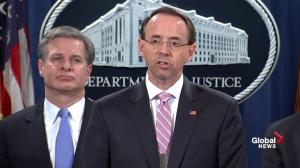 Rosenstein names Chinese hackers charged with global hacking campaign