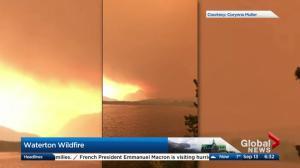 Waterton wildfire Wednesday update from Joel Senick