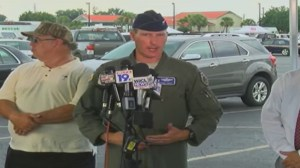 Searchers provide update on F-16 collision with Cessna in South Carolina