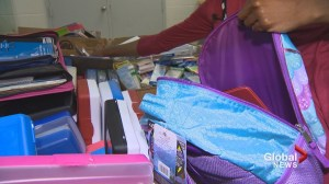 Parker Street food bank coming up short in school supplies