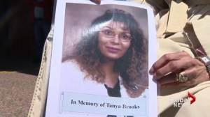 Family and friends gather for Tanya Brooks walk