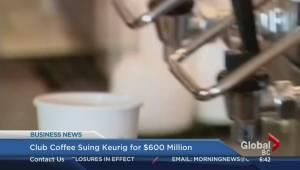 BIV: Club Coffee suing Keurig for $600M