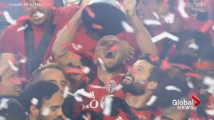 Toronto FC celebrate first MLS Cup win