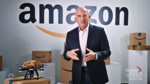 Jeff Bezos mocks Trump in Steve Carrell SNL skit