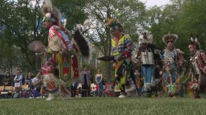 Hundreds celebrate Saskatoon's first two-spirit powwow at University of Saskatchewan