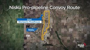 Nisku truck convoy and pro-pipeline rally expected to draw hundreds