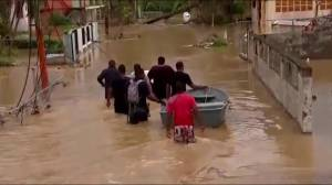 Canadians trapped in devastated Caribbean