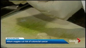Health Matters: Allium veggies cut risk of colorectal cancer