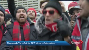 Toronto FC celebrates MLS Cup with victory parade
