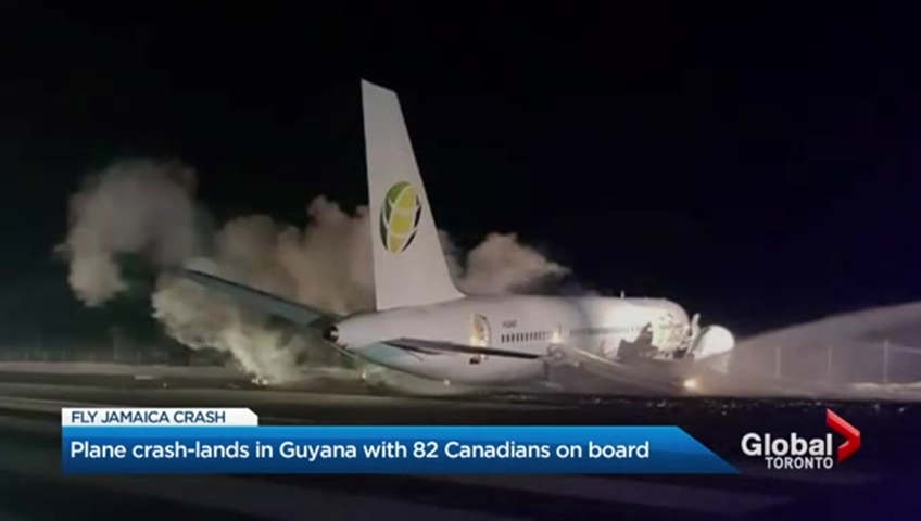 Fly Jamaica saddened at death of passenger from crash-landed plane